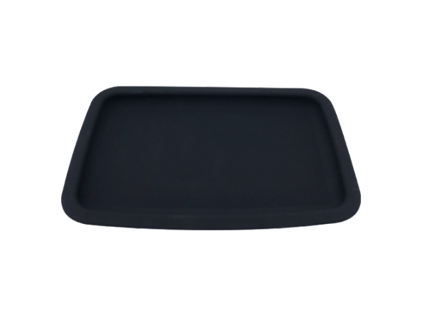 BANDEJA DE ROLAMENTO HERBAL DE SILICONE BLACK smokeshop pontocom
