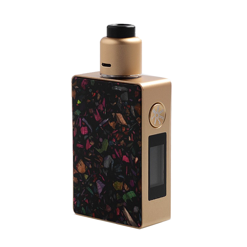 Kit Vape Asmodus Spruzza Gold Black smokeshop pontocom