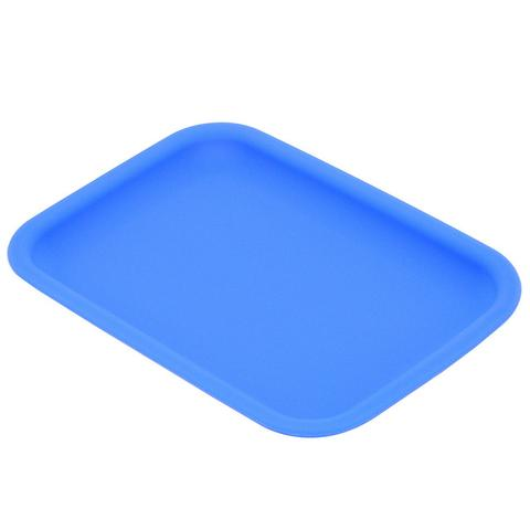 BANDEJA DE ROLAMENTO HERBAL DE SILICONE LIGHT BLUE smokeshop pontocom