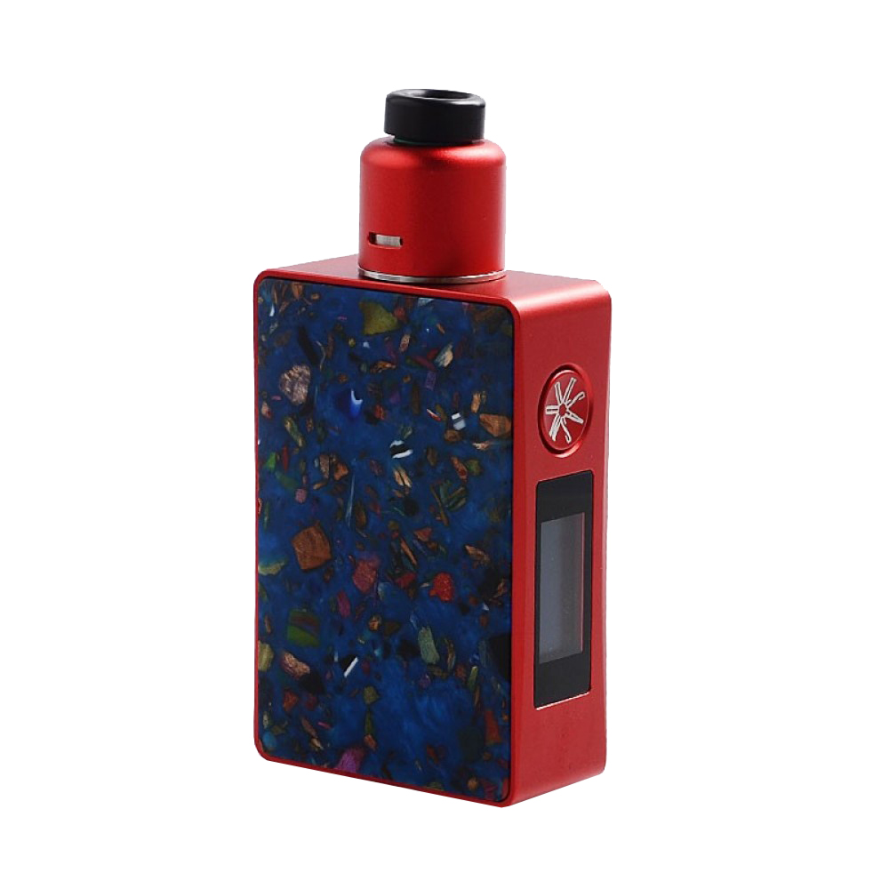 Kit Vape Asmodus Spruzza Red Black smokeshop pontocom