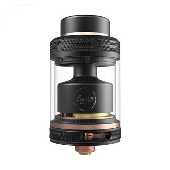 Atomizador CoilART Mage RTA V2 Black Rose Golden smokeshop pontocom